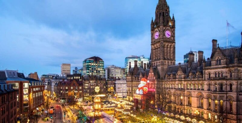 Manchester City Councillor gives update on this year's Christmas Lights switch-on, The Manc