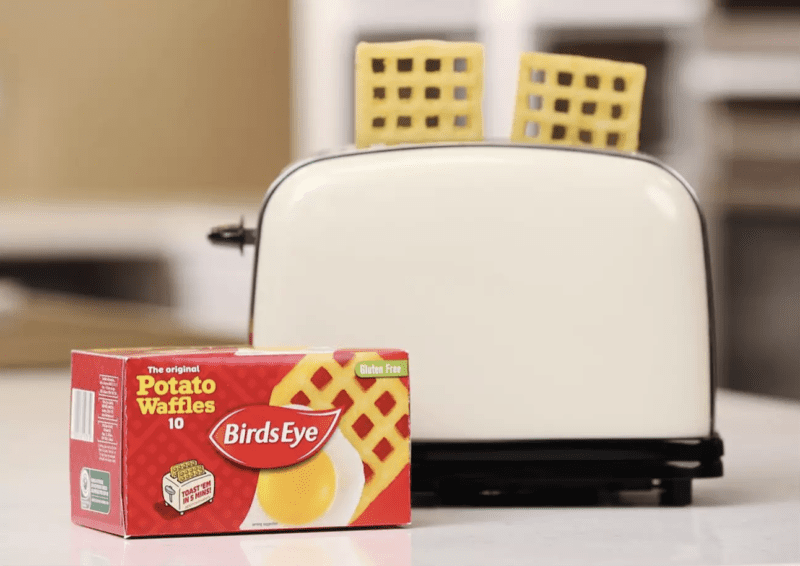 Birds Eye reveal new way to cook potato waffles… in the TOASTER, The Manc