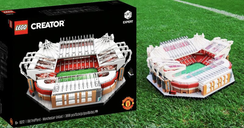 There is now a Lego Old Trafford set for Manchester United fans, The Manc