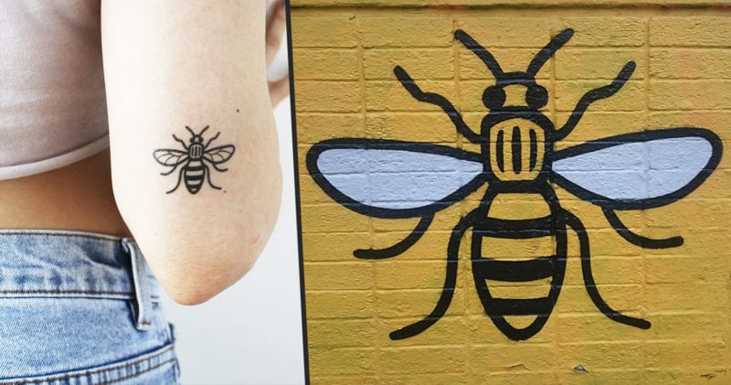 Woman who criticised Manchester bee tattoos on Twitter responds to backlash, The Manc
