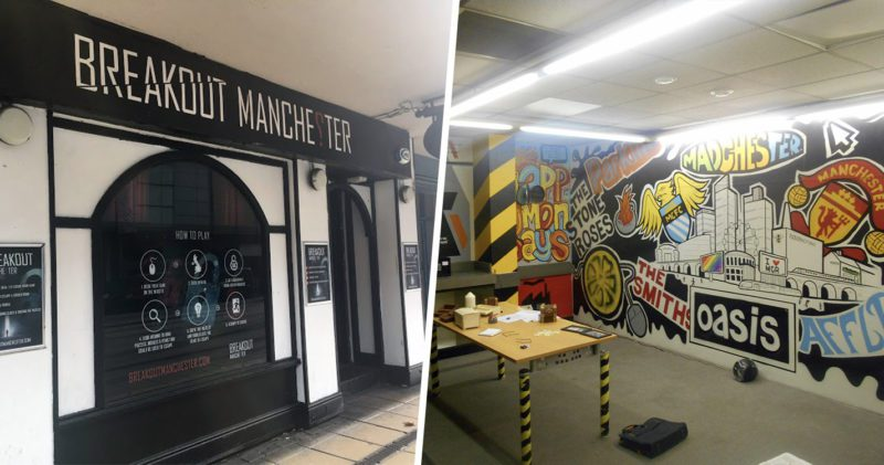 Breakout Manchester escape room giving away a free game for five people, The Manc