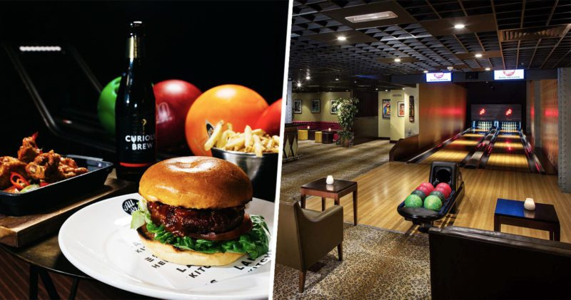 You can get a game of bowling, a burger and drinks at All Star Lanes for £14, The Manc