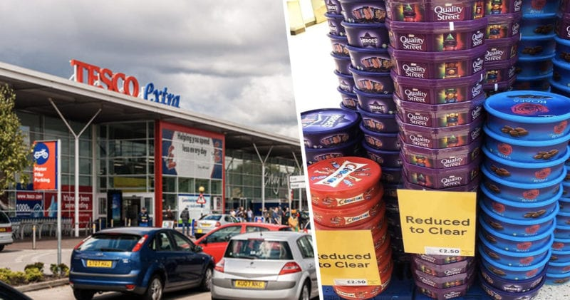 Tesco slashes price of Christmas chocolate to as low as £2.50, The Manc