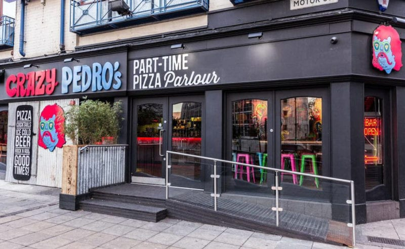 Crazy Pedro's and Bunny Jacksons have created the ultimate pizza, The Manc