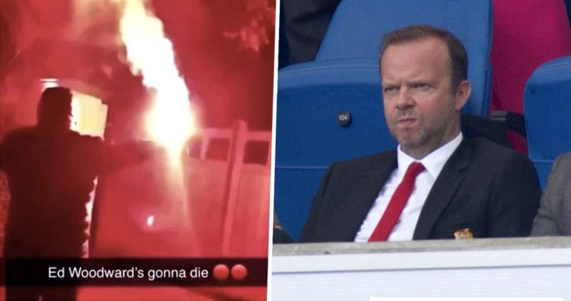 Manchester United executive vice-chairman's home attacked by football fans, The Manc