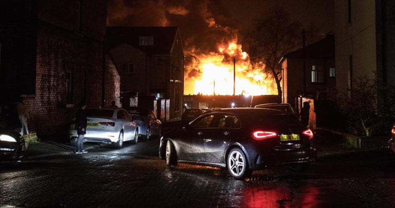 Everything we know about the huge scrapyard fire in Bury right now, The Manc