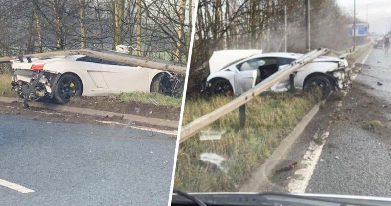 Sergio Romero smashes £170,000 Lamborghini near Manchester United training ground, The Manc