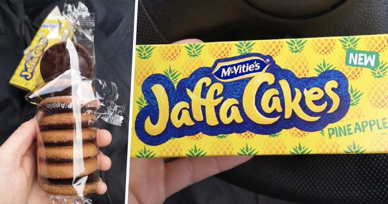 Pineapple Jaffa Cakes are now officially a thing in Morrisons, The Manc