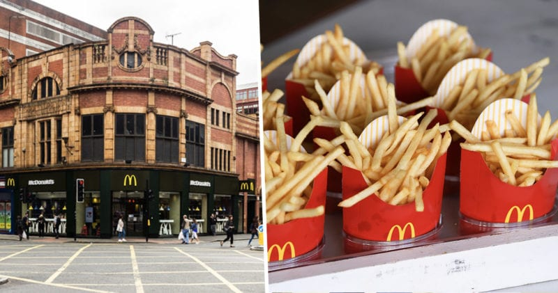 Free fries are being given out at Maccies tomorrow, The Manc