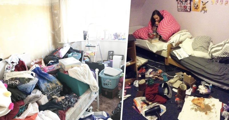 The 10 messiest bedrooms in the UK have been revealed, The Manc