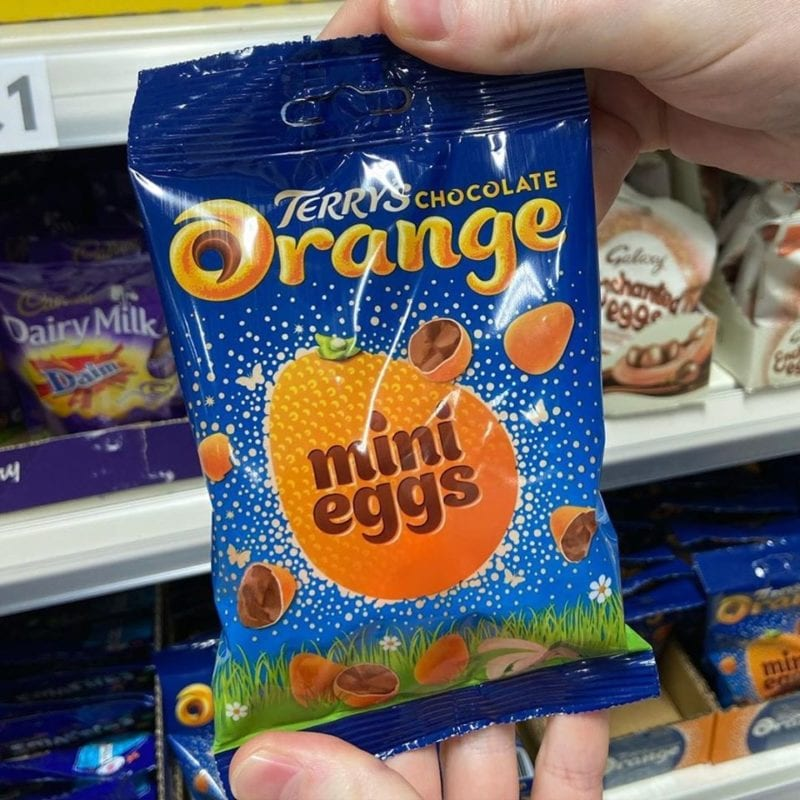 Terry's Chocolate Orange mini eggs have arrived – and they're only £1, The Manc