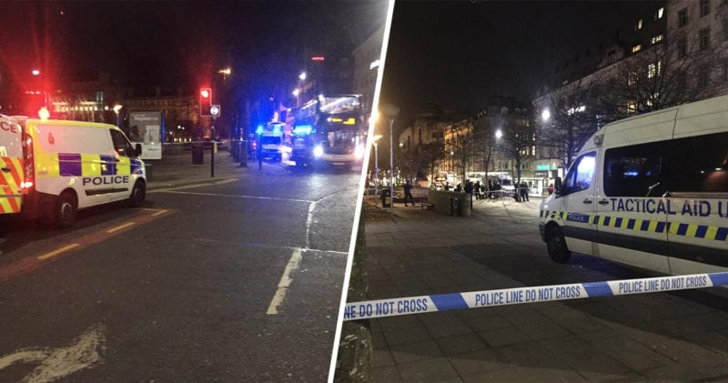 Piccadilly Gardens cordoned off by police following 'serious incident', The Manc