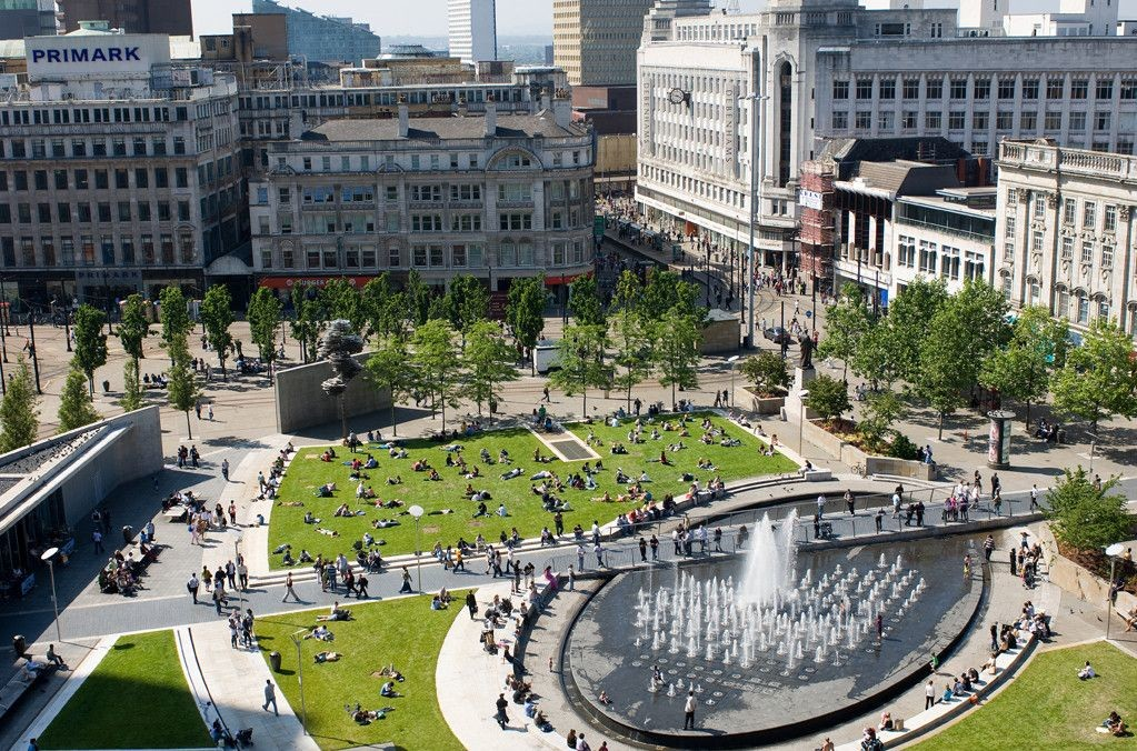 Plans to demolish part of concrete wall in Piccadilly Gardens approved, The Manc