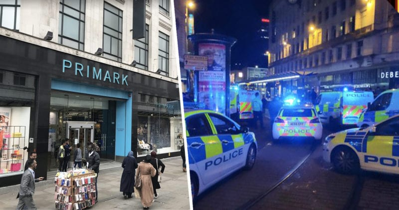Reports of two people stabbed in Piccadilly Gardens near Primark, The Manc