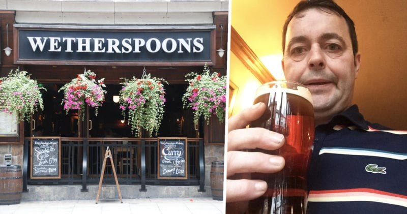 Man receives 700 quid worth of pints at Wetherspoons for nothing, The Manc