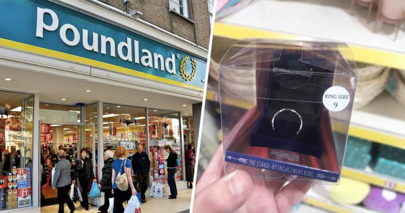 Poundland is selling £1 engagement rings ahead of Valentine's Day, The Manc