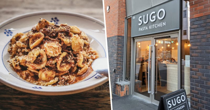 Three courses at Sugo Pasta Kitchen will only cost you £20 all January, The Manc