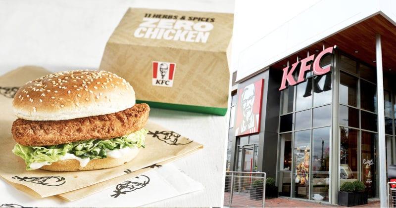 KFC's vegan burger launches in Manchester tomorrow, The Manc