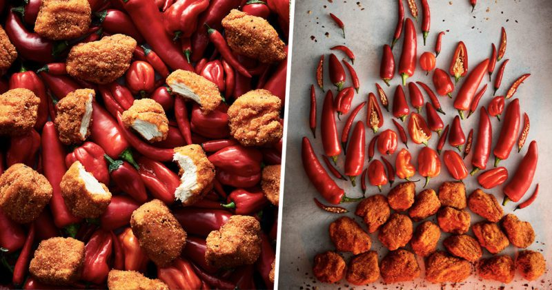 Iceland has just launched Carolina Reaper Chicken Chunks, The Manc