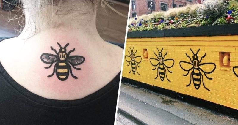Tweet criticising Manchester bee tattoos gets HUGE backlash, The Manc