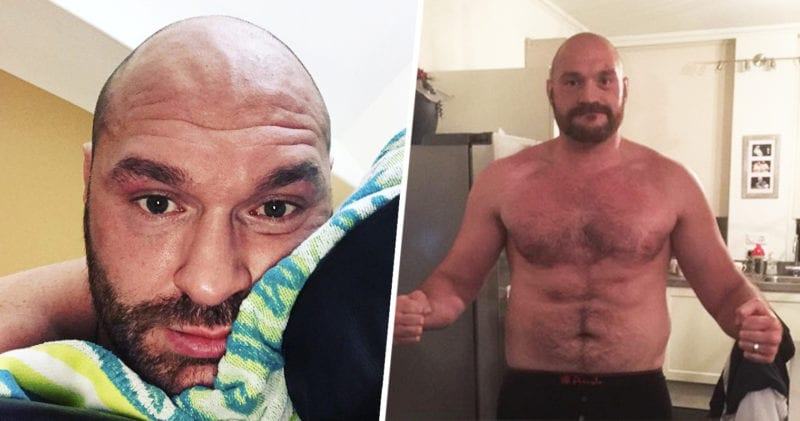 Tyson Fury explains why he's masturbating so much ahead of Wilder rematch, The Manc