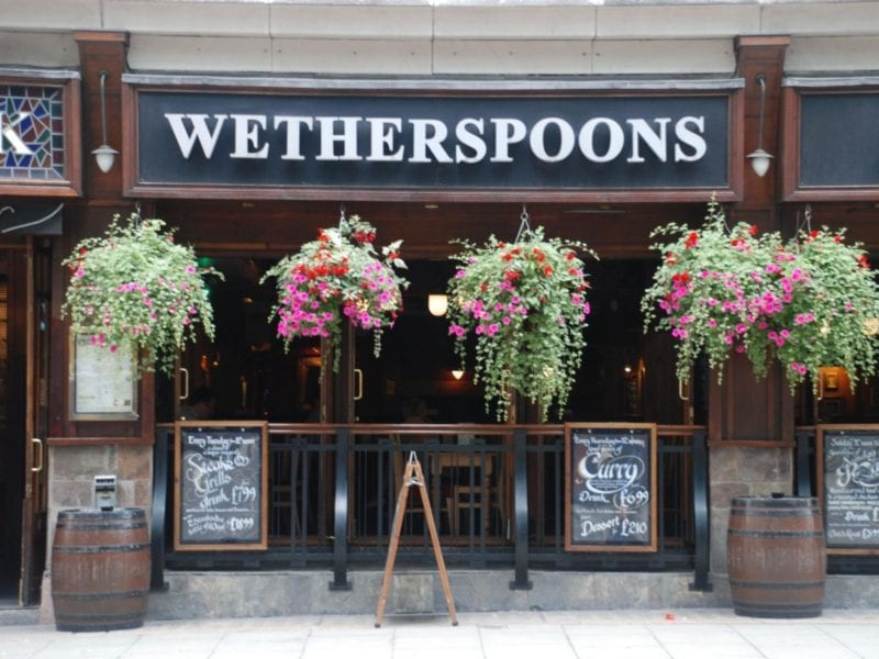 Wetherspoon's planning to reopen its pubs 'in or around June', The Manc