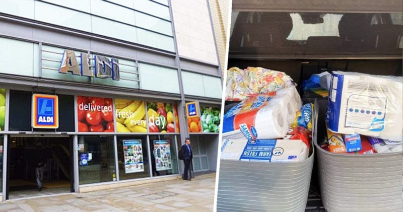 Savvy mum's Aldi shopping hack goes viral after posting it on Facebook, The Manc
