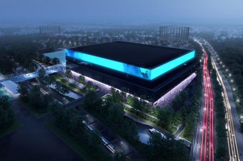 There are plans to build the UK's biggest indoor arena in Manchester, The Manc
