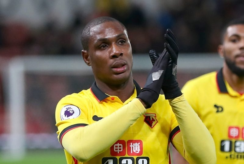 Odion Ighalo isolated from Man Utd squad after arrival from China, The Manc