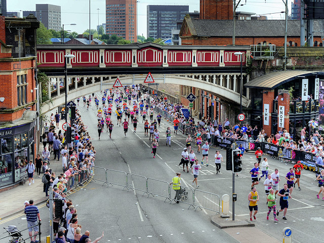 There's a Bee Wave happening at the Great Manchester Run this year, The Manc