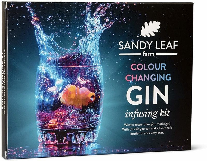 You can now get a homemade colour changing gin kit, The Manc