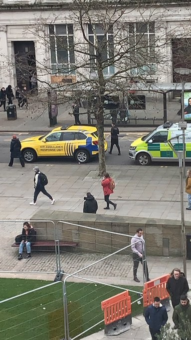Suspected 'targeted attack' takes place in Manchester city centre, The Manc
