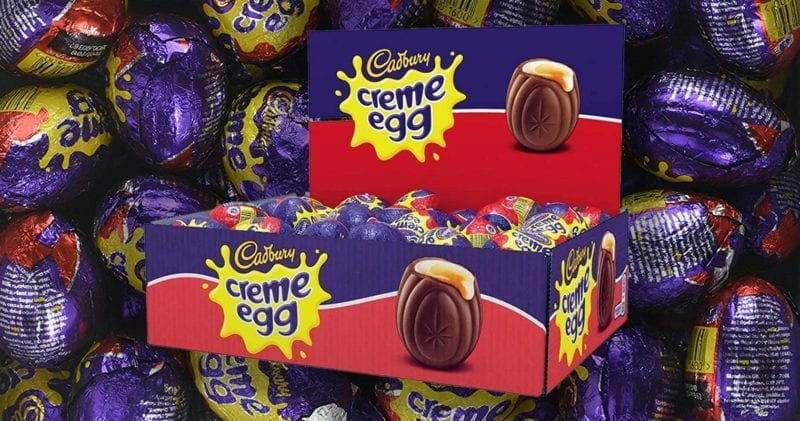 You can buy a box of 48 Creme Eggs on Amazon for £14.40, The Manc