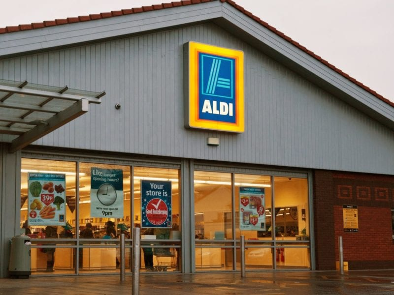 Aldi has launched a delivery service for the first time ever, The Manc