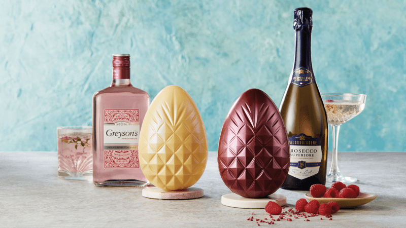 You can now get gin and prosecco infused Easter eggs in UK supermarkets, The Manc