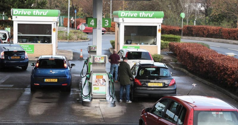 Asda and Morrisons have cut fuel prices for the second time in a week, The Manc