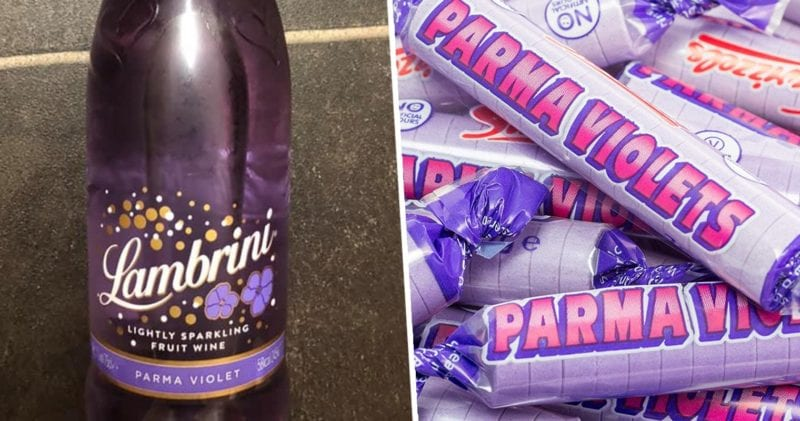Purple Lambrini that tastes of parma violets is available in Morrisons, The Manc