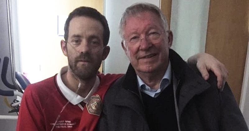 Terminally ill Manchester United fan who had chance hospital meeting with Sir Alex Ferguson has sadly passed away, The Manc