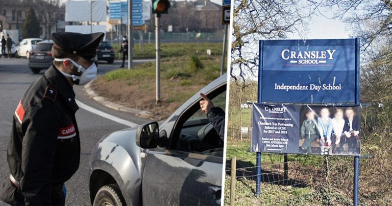 School in Cheshire closes over Coronavirus fears, The Manc