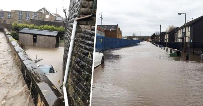 Evacuations across Bury as River Irwell breaks its banks, The Manc