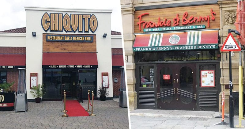 Up to 90 Frankie & Benny's and Chiquito restaurants will close by 2021, The Manc