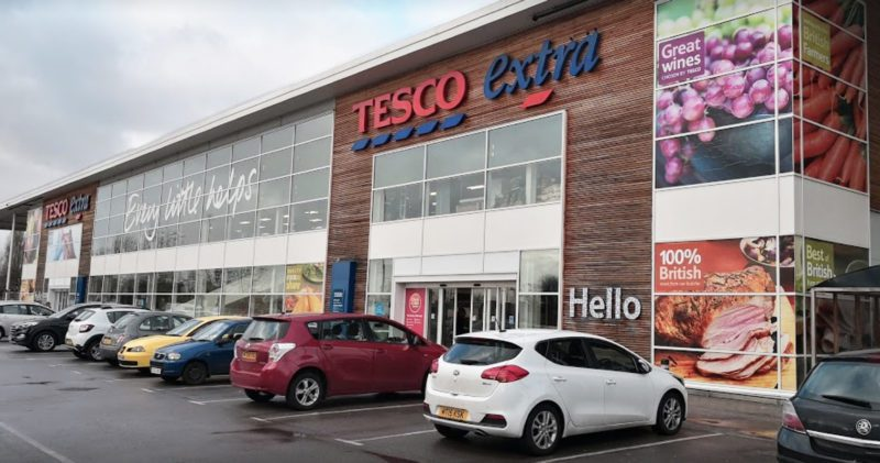 There's a huge disco happening in this Tesco in Salford, The Manc