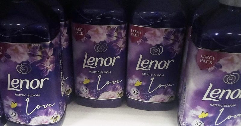 You can now buy Lenor fabric softener that smells like Alien perfume, The Manc