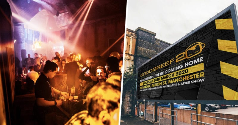 Manchester's legendary clubbing brand Goodgreef returns home for 20th birthday, The Manc