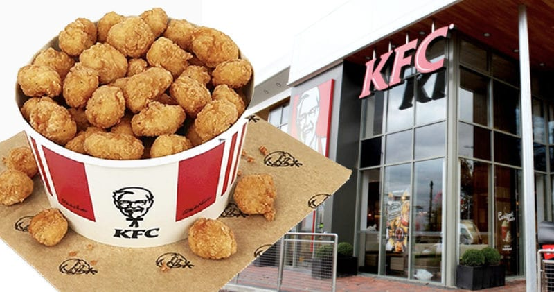 KFC now sell a whopping 80-piece popcorn chicken bucket, The Manc