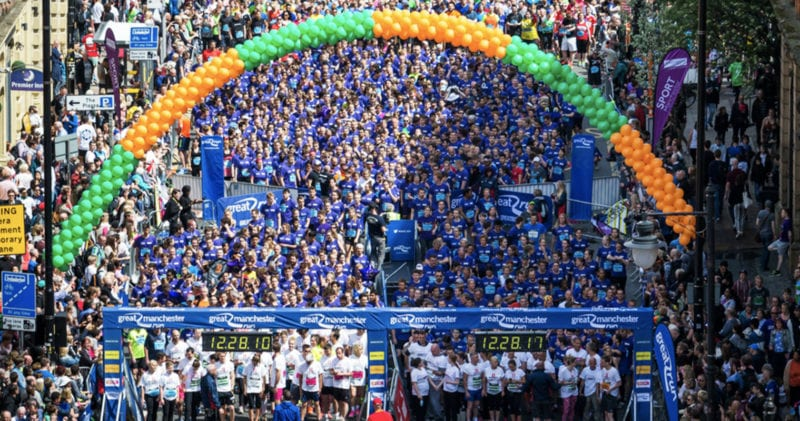 Record number of Mancunians sign up for the 2020 Great North Run, The Manc