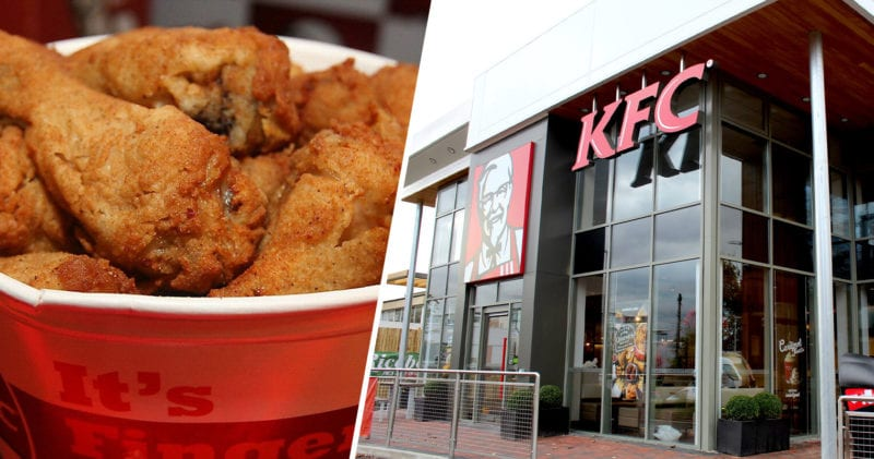 There are two KFC stores currently open for delivery in Manchester, The Manc