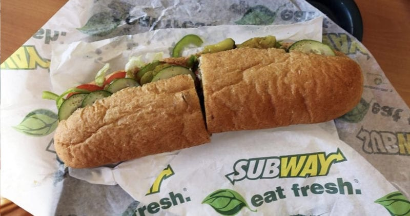 It's officially 'free Subway day' across the UK, The Manc