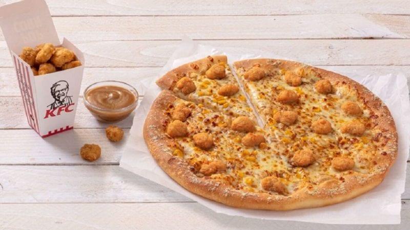 KFC and Pizza Hut team up to create Popcorn Chicken Pizza, The Manc
