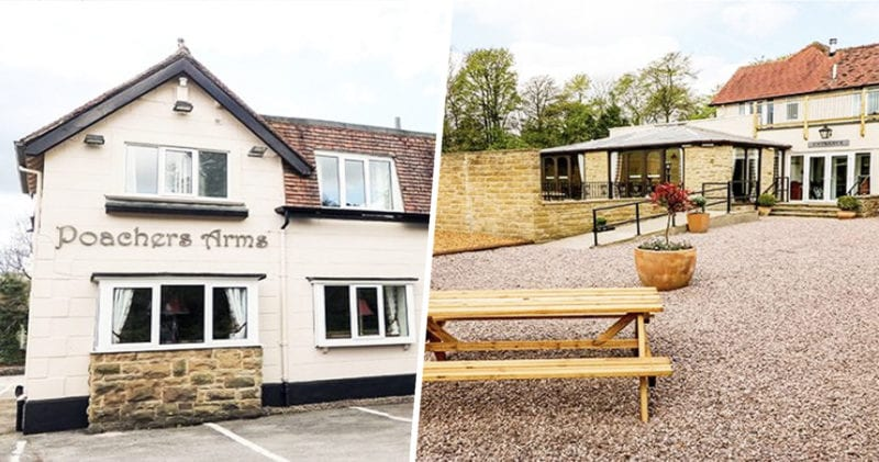 You and your mates can take over this pub in the Peak District and stay the night, The Manc
